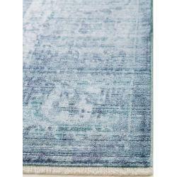 Photo of Reduced design rugs –  benuta Naturals Viscose Yuma Blue 300×400 cm – Vintage…