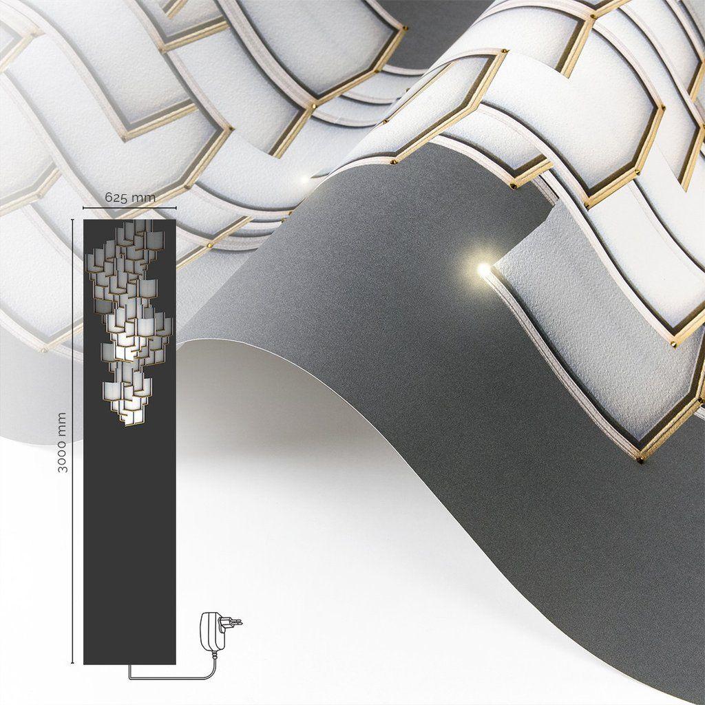 Lattice Systems LED Wallpaper Chandelier   Schöne häuser, Wohnen ...