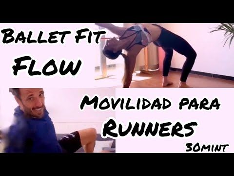Ballet Fit Directo 16. Flow con Chema Martínez. Movilidad para Runners. #balletfitness