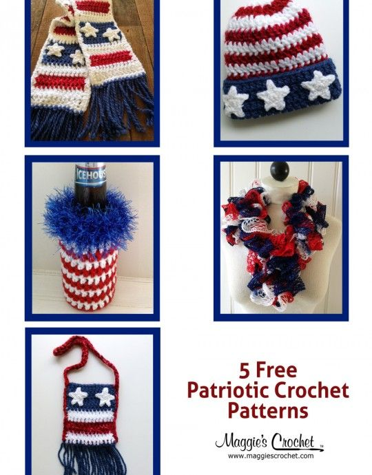 free crochet patterns : Maggie\'s Crochet Blog   Crochet fun projects ...