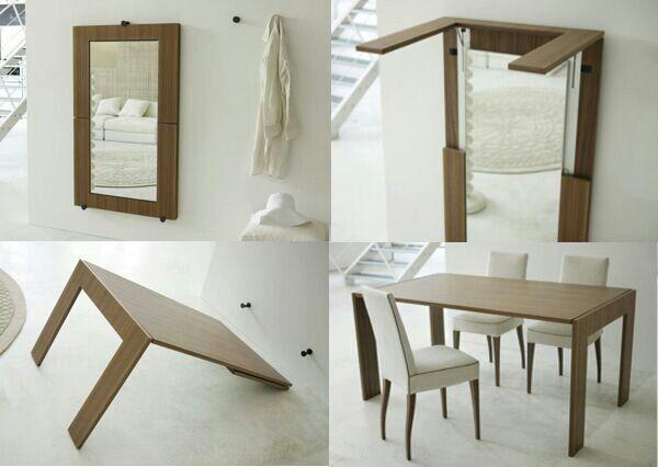 Mesa plegable diseno arte multifunctional furniture - Mesa plegable diseno ...