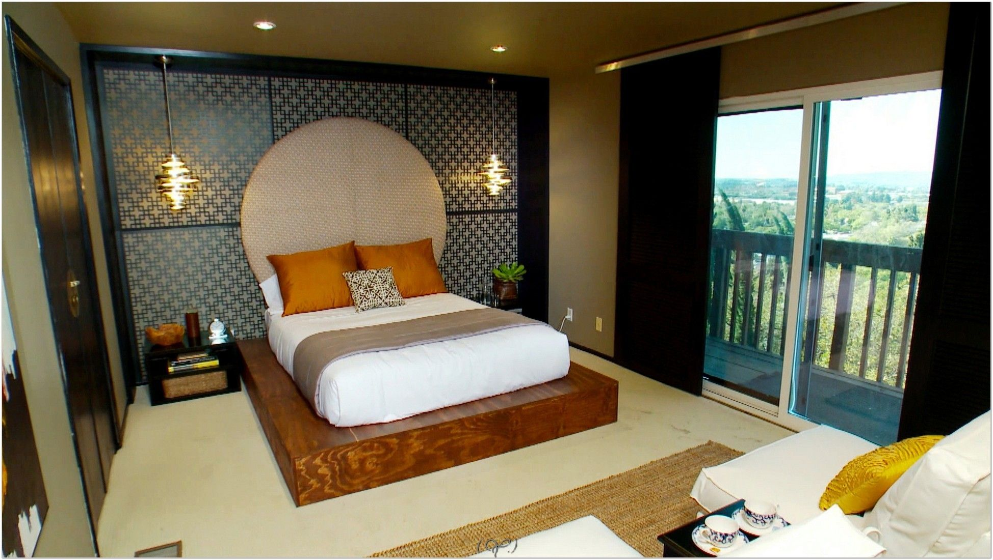 master bedroom design with bathroom and closet