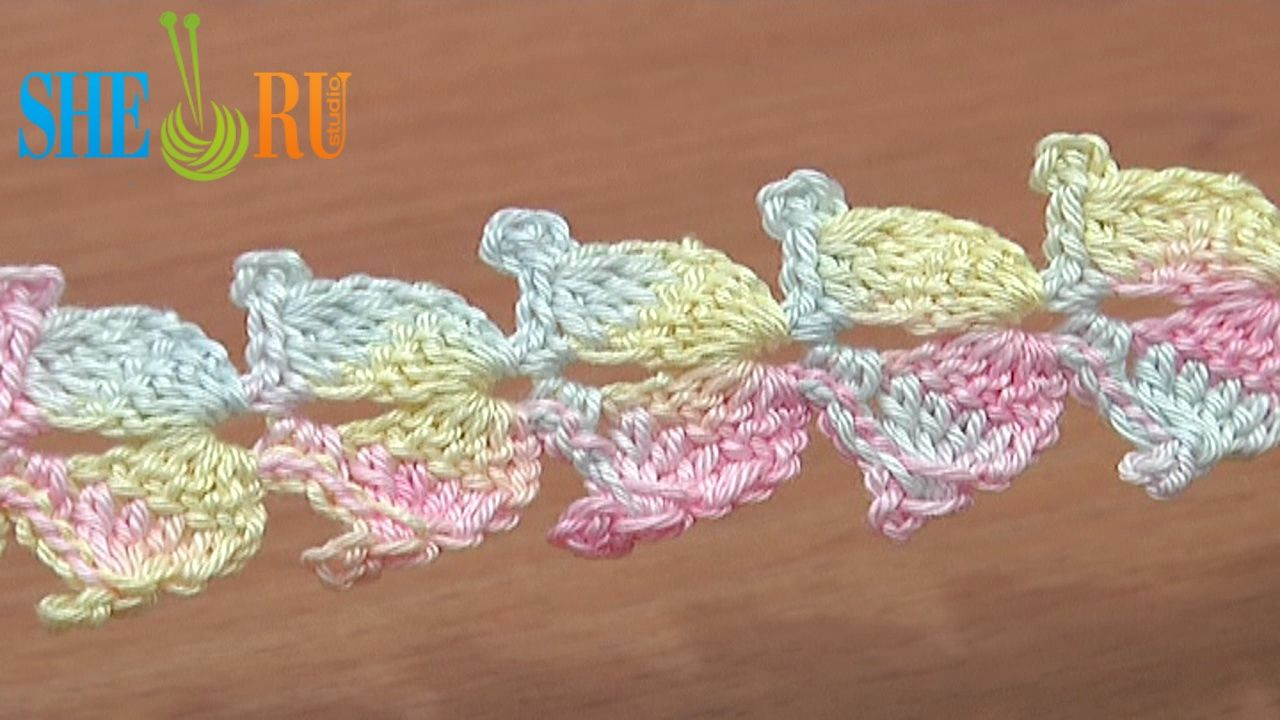Lace Cord Crochet Step by Step Tutorial 10 Double Crochet Decrease Stitch  https://www.youtube.com/watch?v=-ncBRLoFDho In this free crochet tutorial you will learn how to crochet a lace cord of double crochet 5 decrease stitch or double crochet 5 together. On top of the decrease stitch we made a 4-chain picot. This lace cord will be a good addition for you collection and it is a great material for making a bigger projects. Thanks for watching!