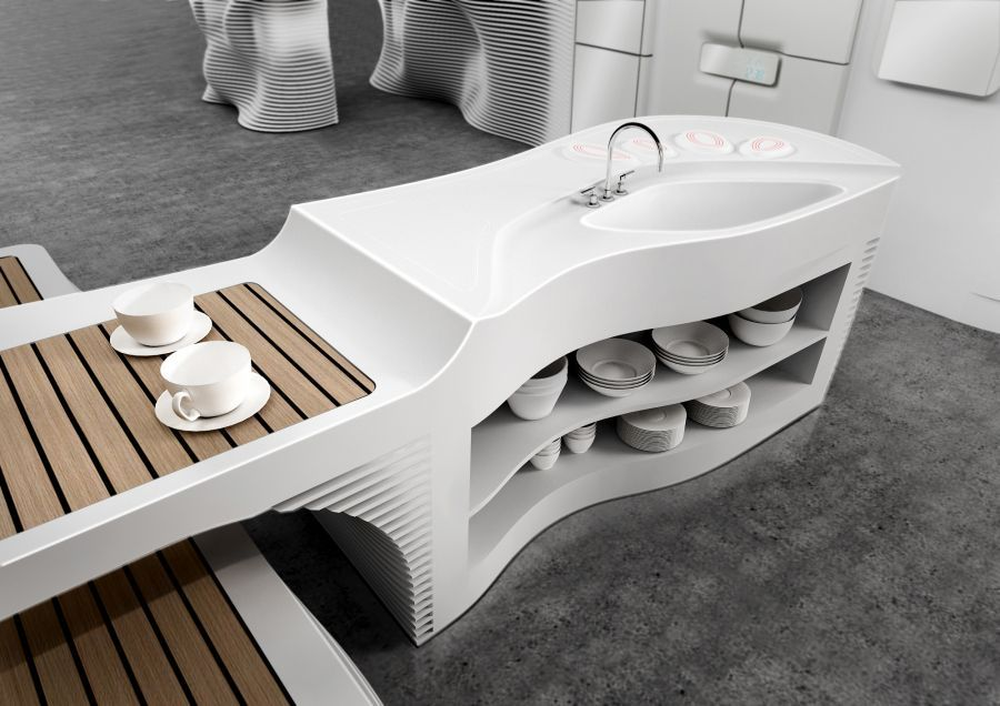 new designed corian kitchen cabinets studio kitchen design