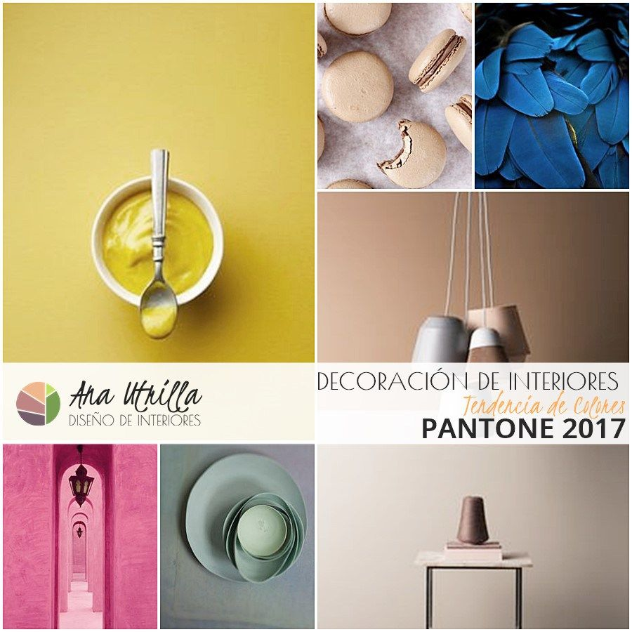 colores pantone en decoracin de interiores colores en tendencia decoracin