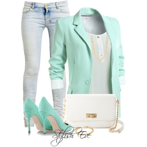 15 Trendy Spring Polyvore Outfit Combinations | Fashion & Style ...