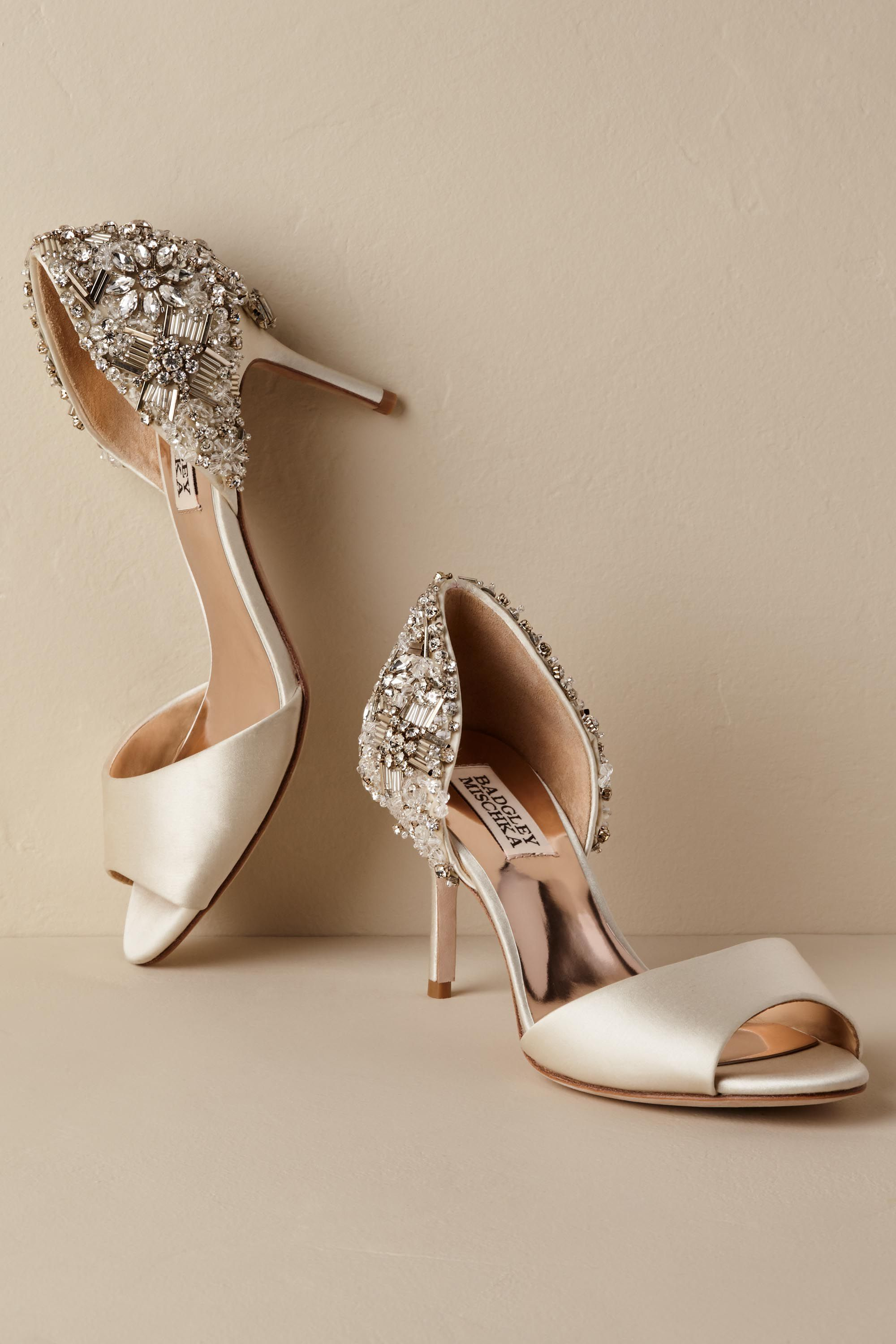 Sandie Heels From Bhldn Wedding Shoes Bridal Shoes Ivory Bridal Shoes