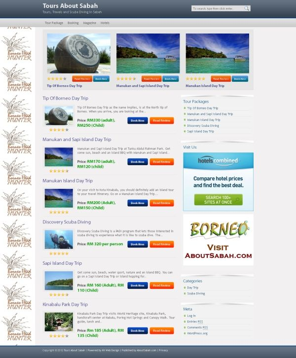 Tours About Sabah Day Trips Around Kota Kinabalu And Sabah Tours Tours Travel Sabah Travel Tours Hunter Day Tour Packages