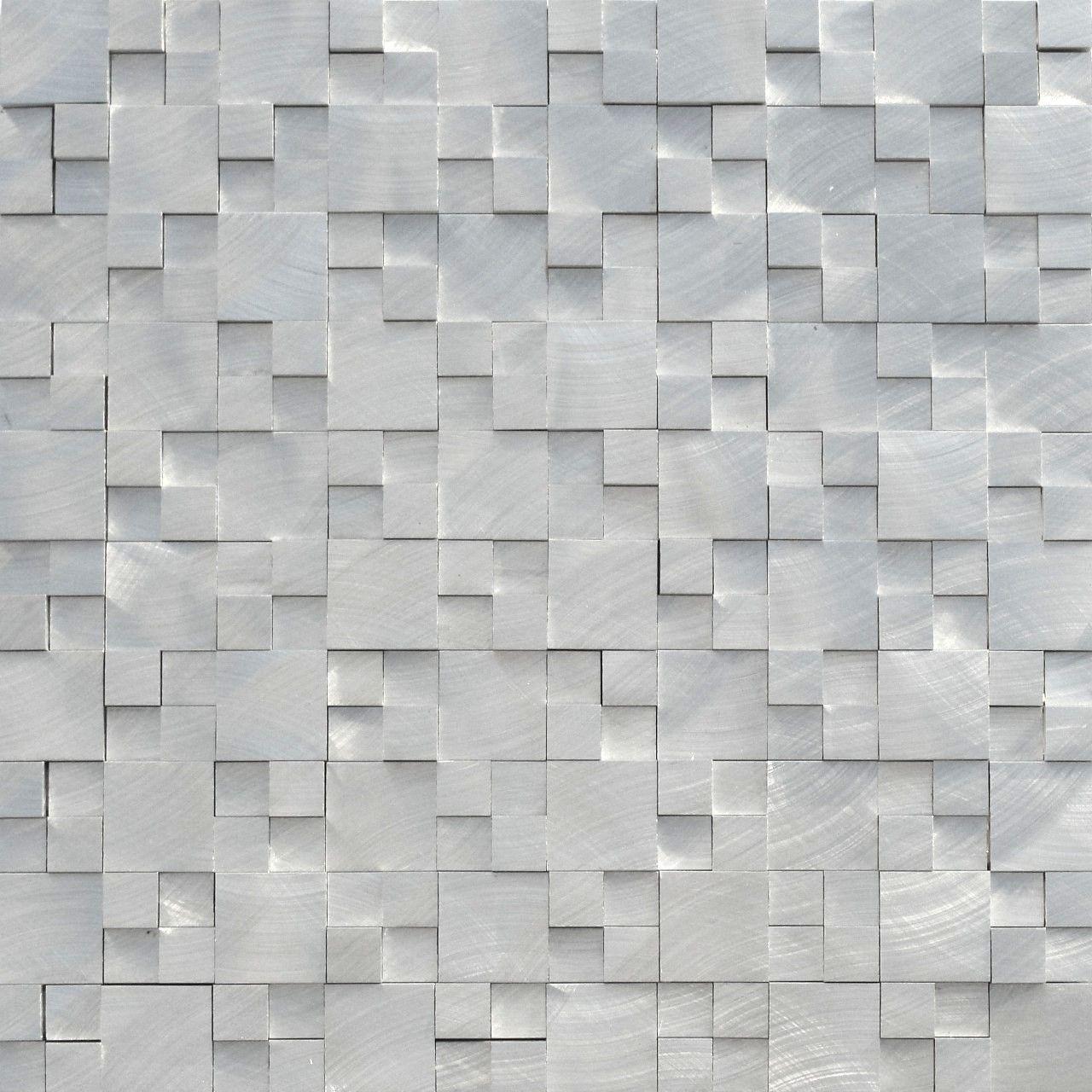 aluminum mosaic tile 3d raised pattern bathrooms mosaic tiles rh pinterest com