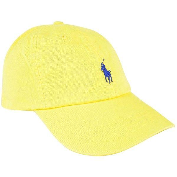 embroidered logo cap - Yellow & Orange Polo Ralph Lauren v7QgKb2