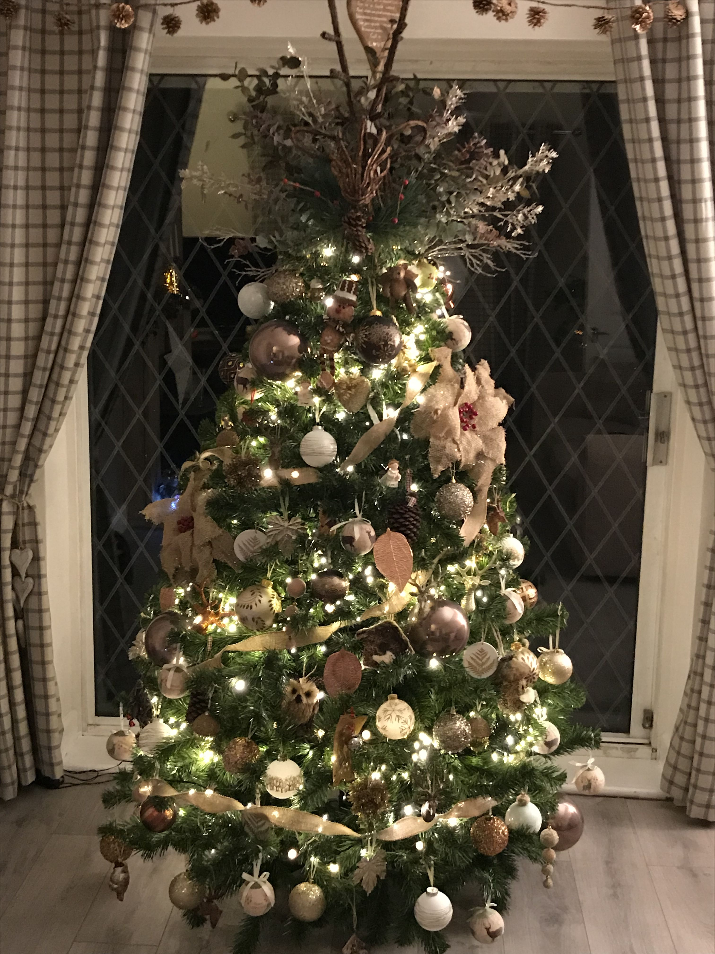 Rustic Christmas tree Rustic Christmas TreesChristmas DcorChristmas