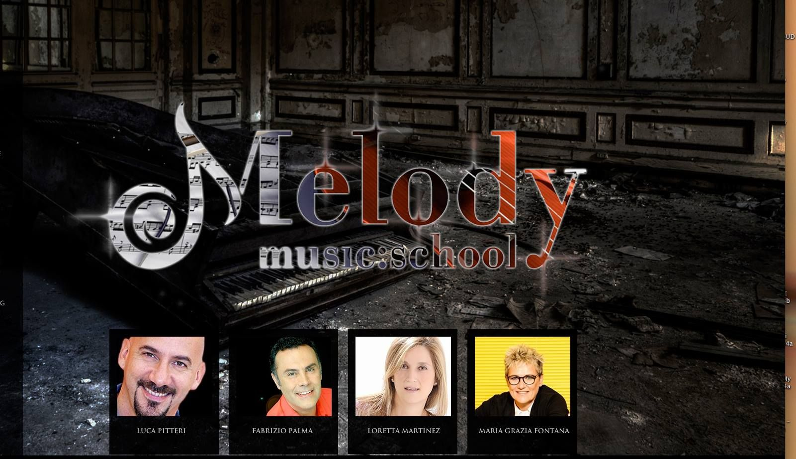 LEZIONI INDIVIDUALI DI CANTO MODERNO CON I MAESTRI FABRIZIO PALMA, LUCA PITTERI, LORETTA MARTINEZ E MARIA GRAZIA FONTANA   www.melodymusicschool.it