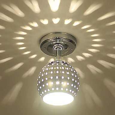 Flush mount moderncontemporary electroplated feature for led mini flush mount moderncontemporary electroplated feature for led mini style metal living room dining room entry hallway led ceiling lightsceiling mozeypictures Choice Image