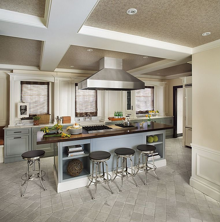 25 Absolutely Gorgeous Transitional Style Kitchen Ideas: There Is Plenty Of Chopping Room In This Contemporary