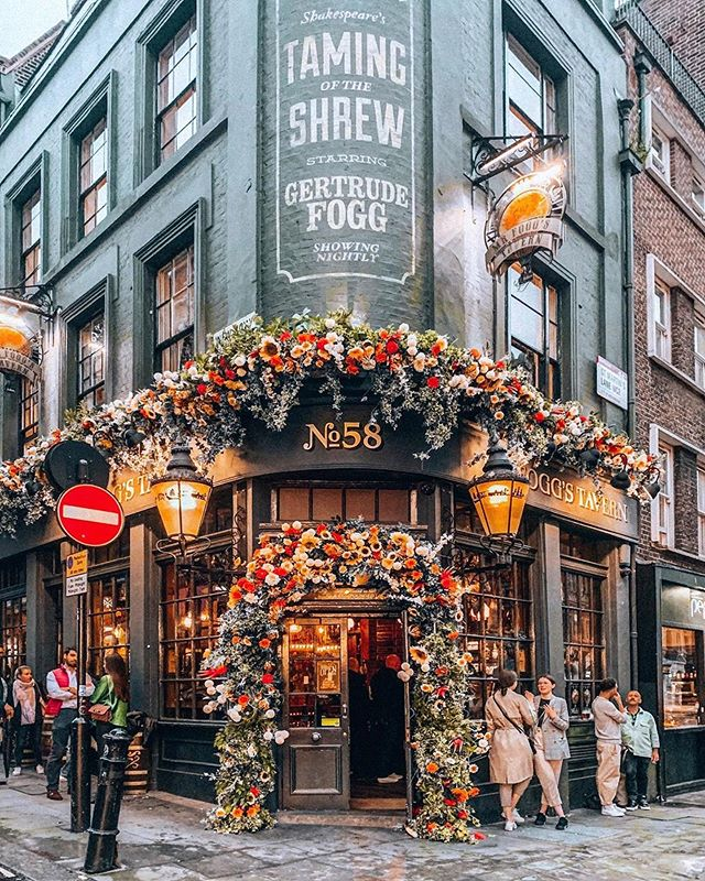 Mr Foggs Tavern In Covent Garden Instagram Em 2020 Londres Lugares Viagem