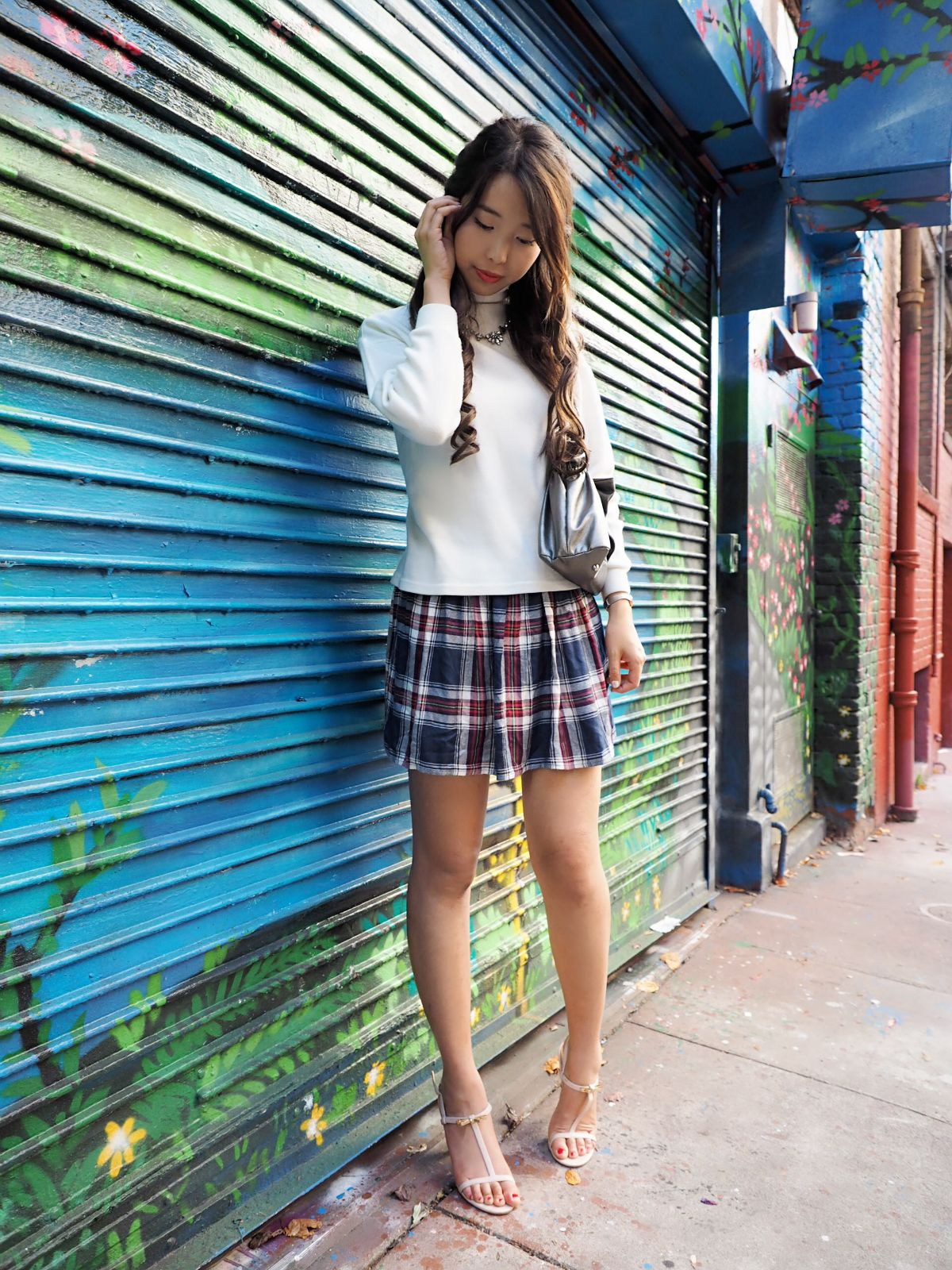 Asian Girls In Skirts