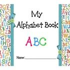 Create an alphabet book with this 57 page FREEBIE! Cover choices ...