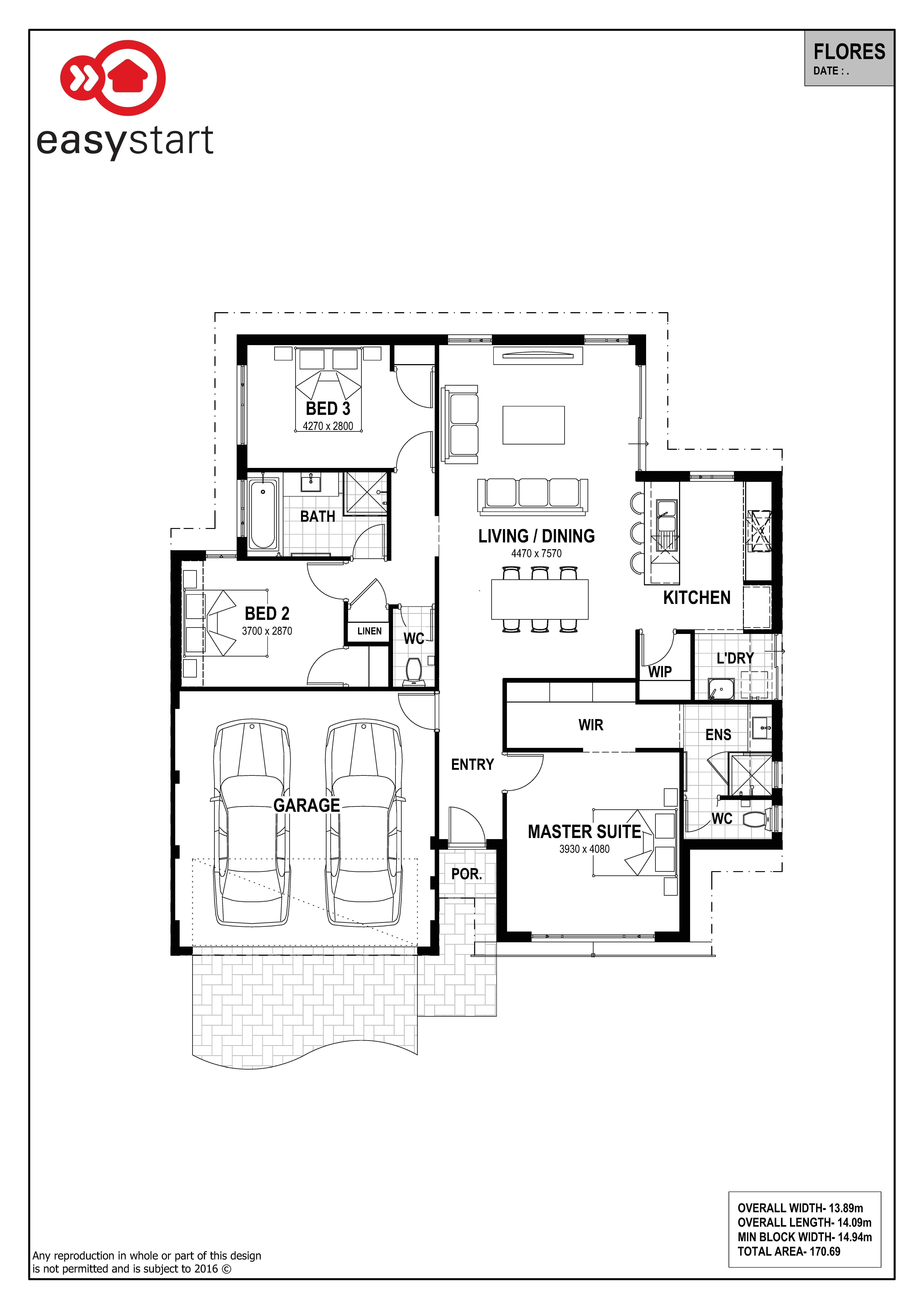 flores easystart home designs perth 2017 house plans flores rh pinterest cl