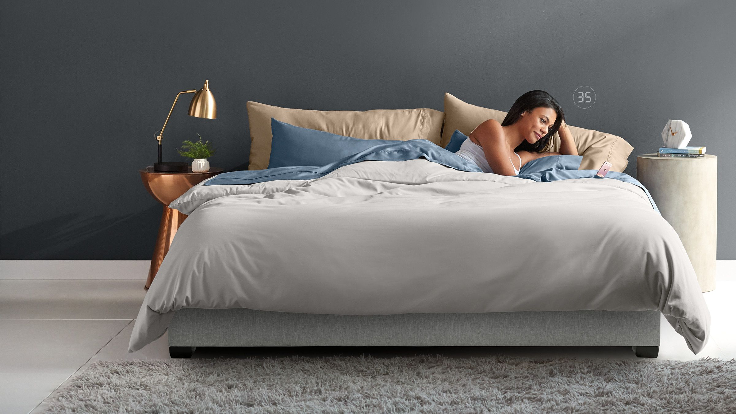 Discover Sleep Number It™ Bed (King Size Bed, Smart bed