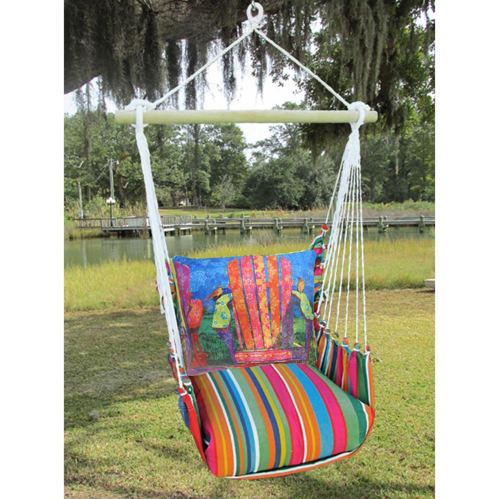 magnolia casual le jardin outdoor hammock chair set with pillow rh pinterest co uk