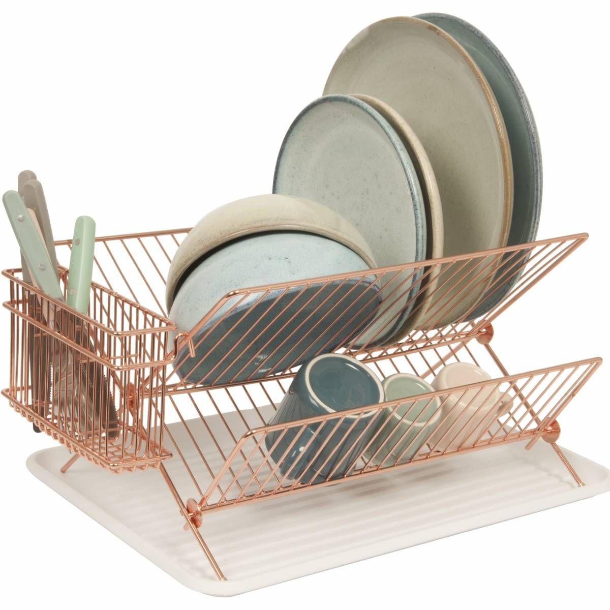 Copper Dish Rack Home Interiors Kitchen Dining Copper