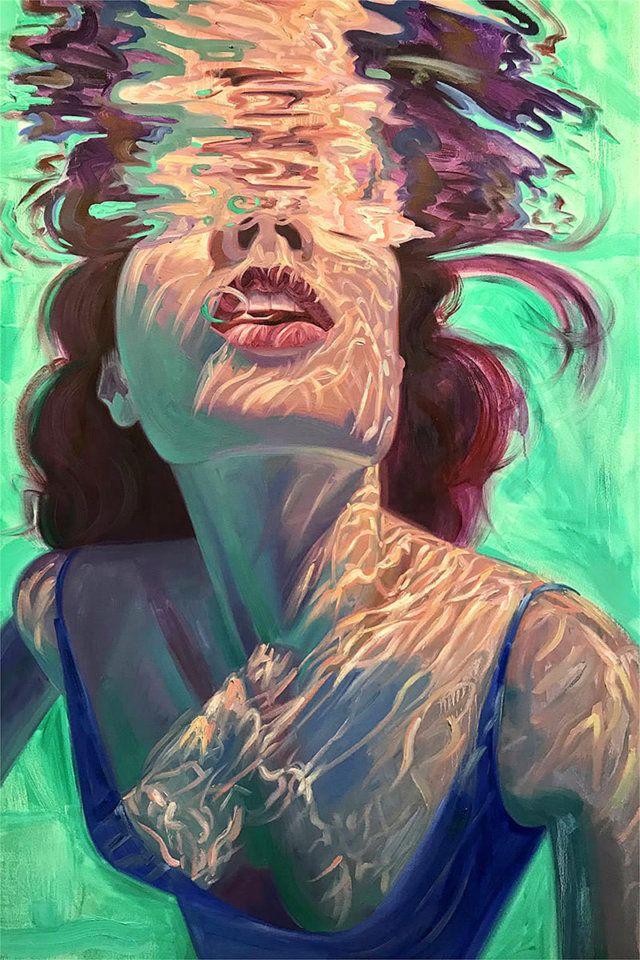 Isabel Emrich, un tuffo nella pittura espressionista