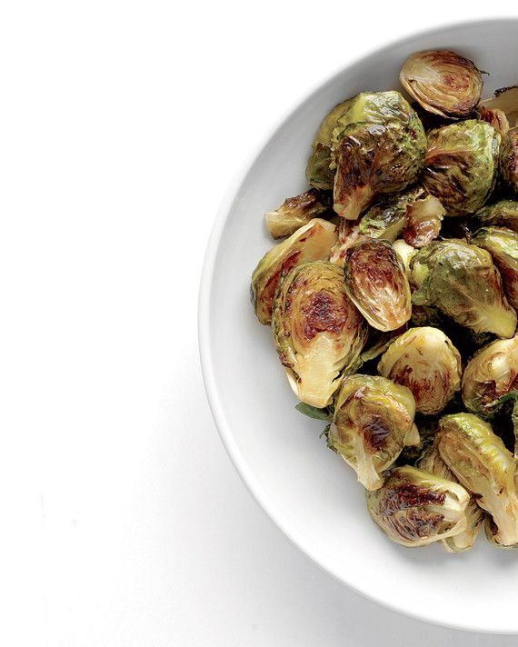 Turn up the volume on simple roasted brussels sprouts with fiery cayenne pepper and sweet maple syrup. They're the perfect partner for any pork dish.