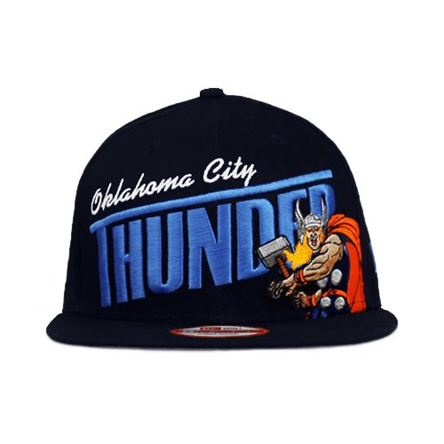 more photos 2402c 5451a Oklahoma City Thunder The Hero Snapback Team Colors 9fifty ...