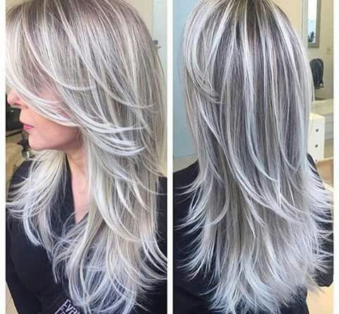 Maybe With A Super Light Blonde Instead Of The Silver Gray