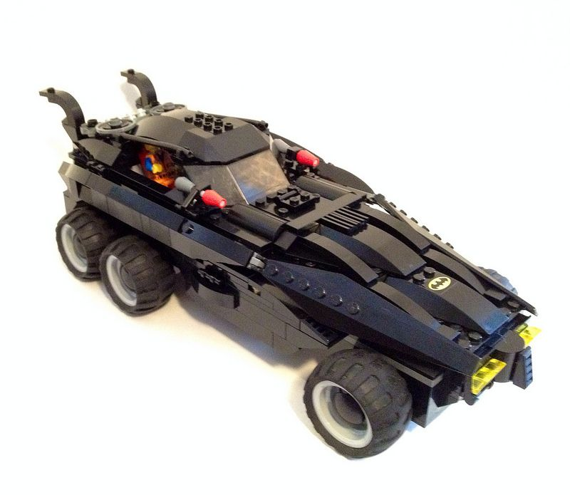 The Lego Movie Batmobile Impressive Lego Customs Lego Batmobile