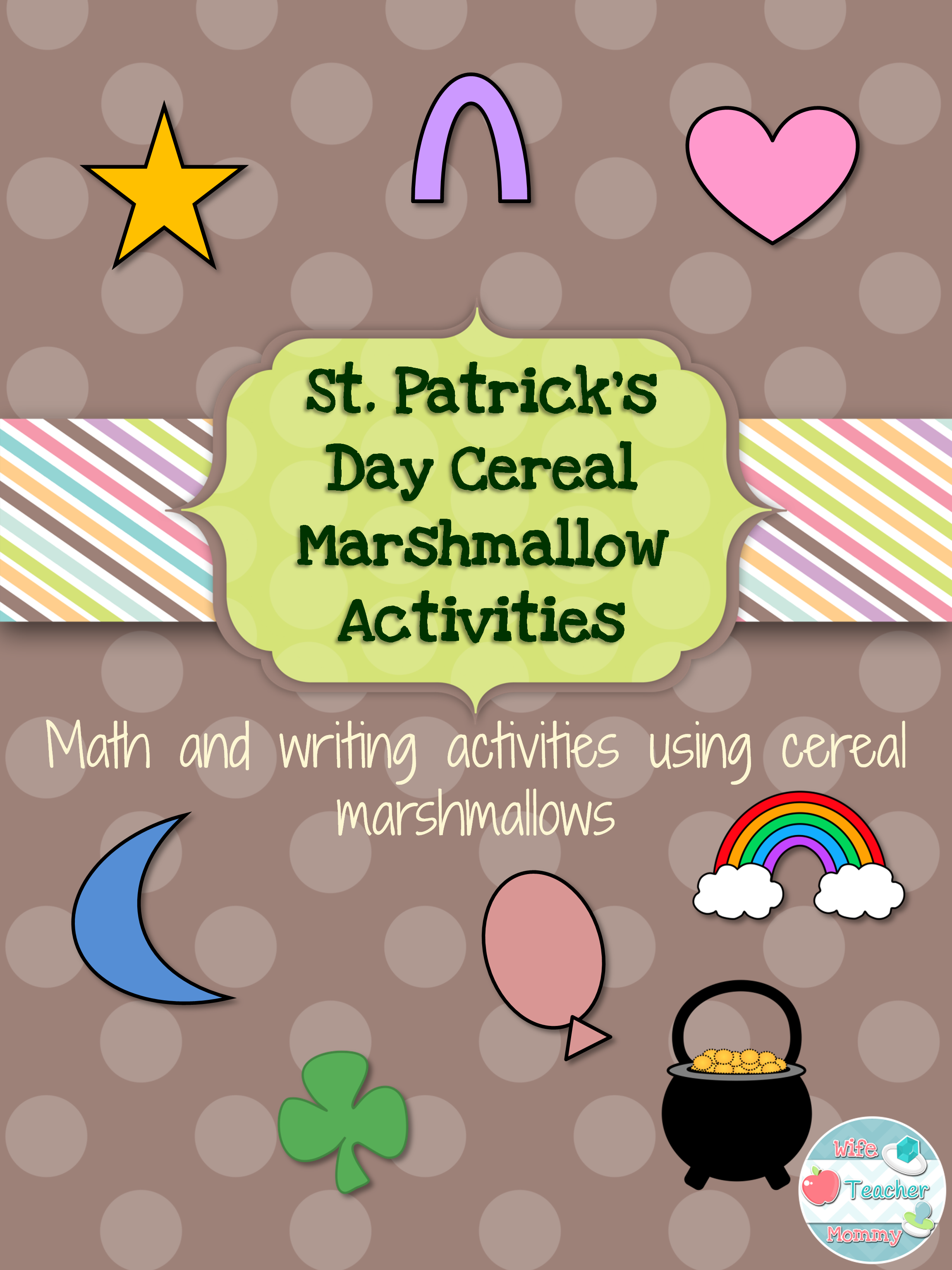 St Patrick S Day Cereal Marshmallow Activities 3rd 4th