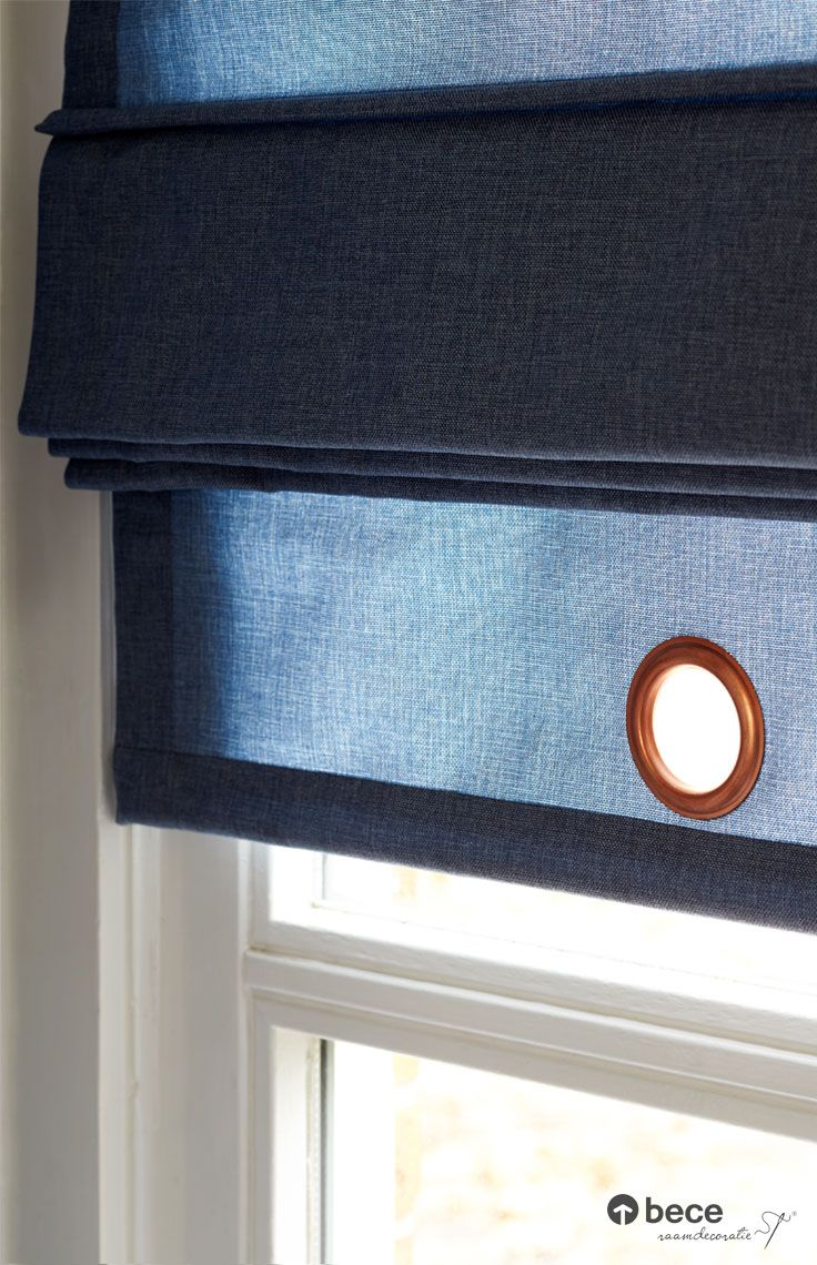 Vouwgordijn Met Ring Denim Bece Raamdecoratie Industrieel Wonen Inspiratie Www Bece Nl Vouwgordijnen Gordijnen Raamdecoratie