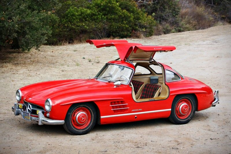 55 Mercedes 300sl First Gullwing Model Goes To Auction American Luxury Mercedes Benz 300 Mercedes Benz Mercedes