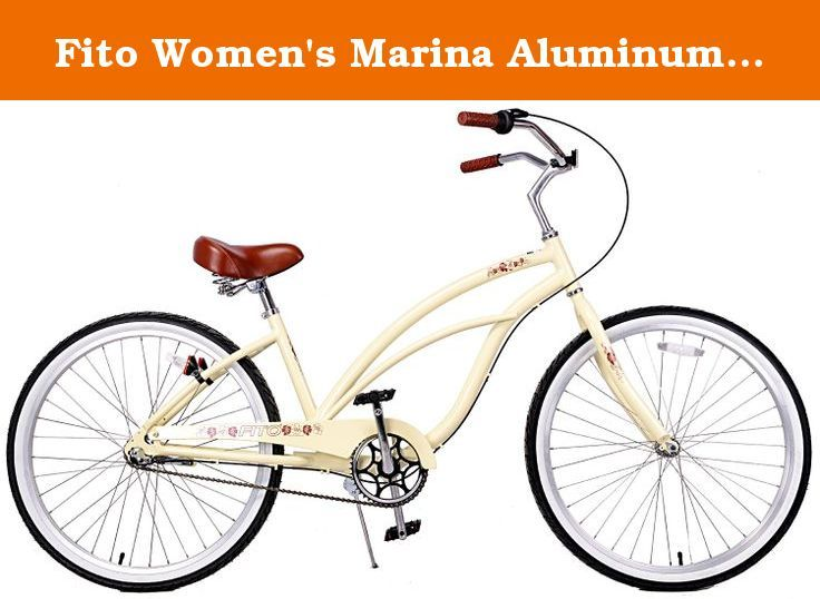 Fito Women S Marina Aluminum Alloy 3 Speed Beach Cruiser Bike Yellow 15 5 X 26 One Size Comfortable Beach Cruiser Bicycle Made By Fito Who Provides The Qua