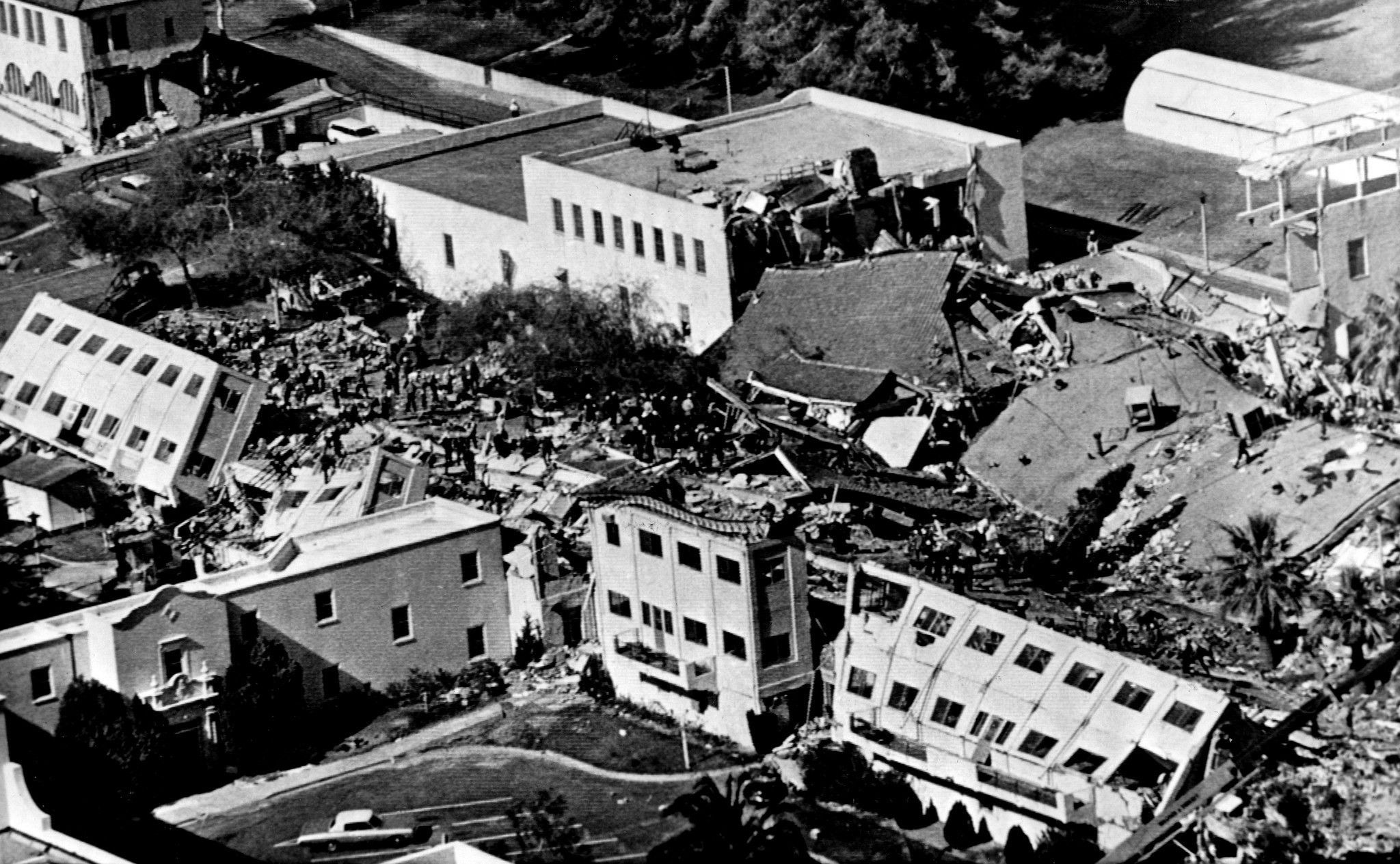 1971 Los Angeles California Earthquake Los Angeles Earthquake California