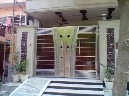 Image result for Gate design using HPL | Gates | Pinterest | Gate ...