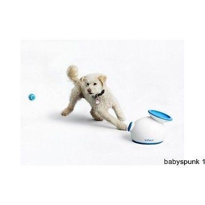 Automatic Dog Fetching Toy Ball Puppy Bones Rope Chew Toys Bone