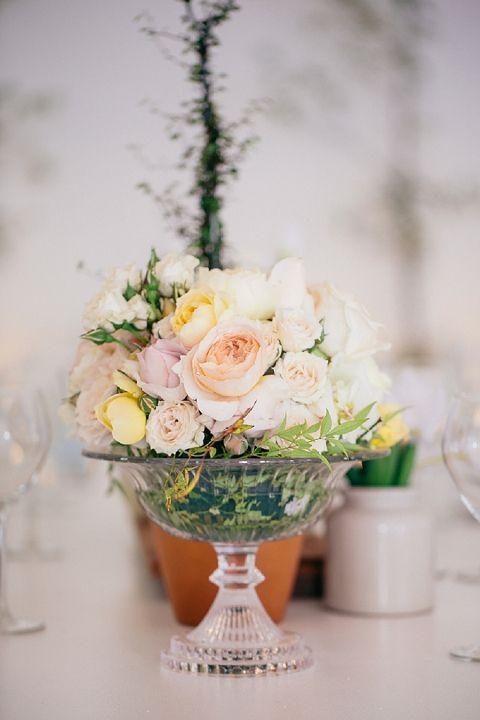 I love this candy dish vase idea.  real wedding: a pastel-hued romance part 2 {melanie & thinus}