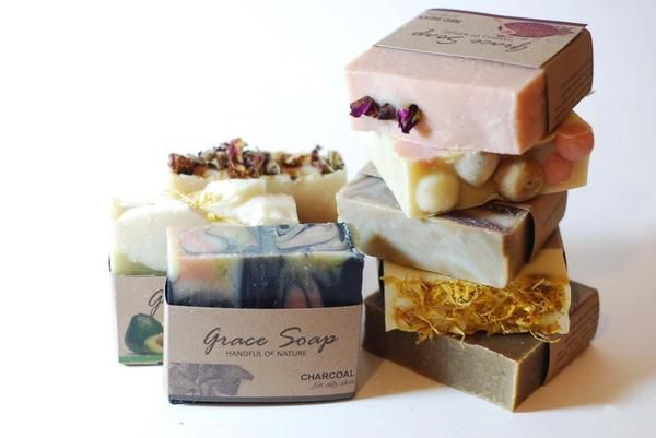 Grace Soap - Product Packaging by Angela Kim, via Behance