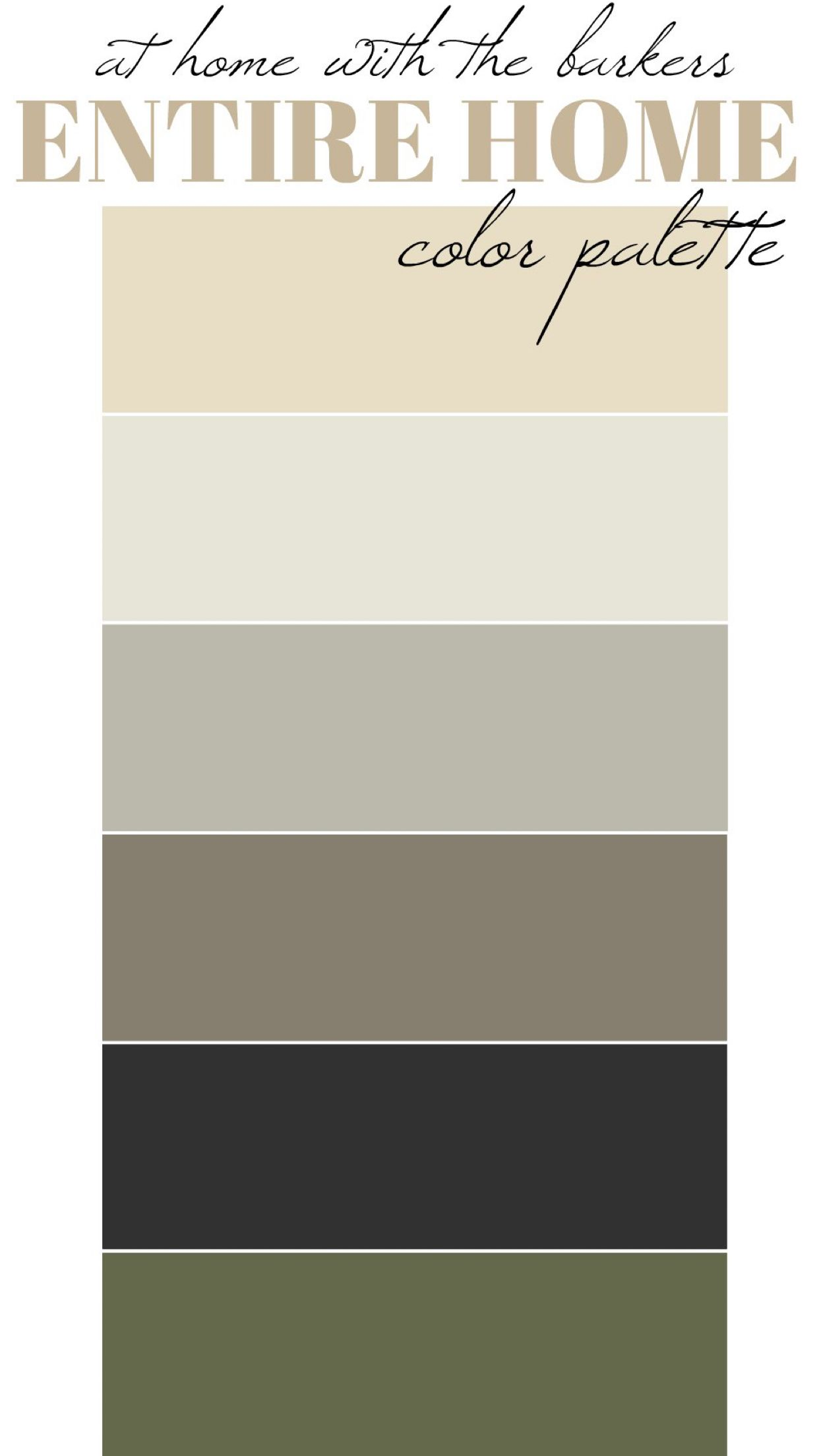 Moody Paint Colors For The Home