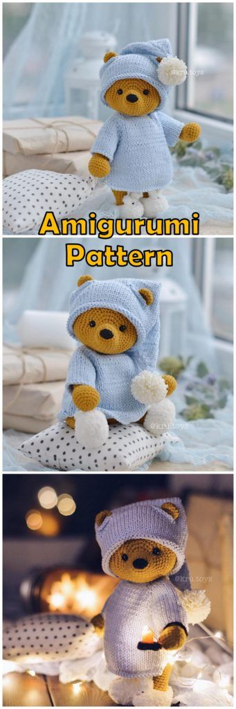 Amigurumi Doll And Animal Crochet Free Patterns And Tutorials - Amigurumi Free Patterns #dollhats