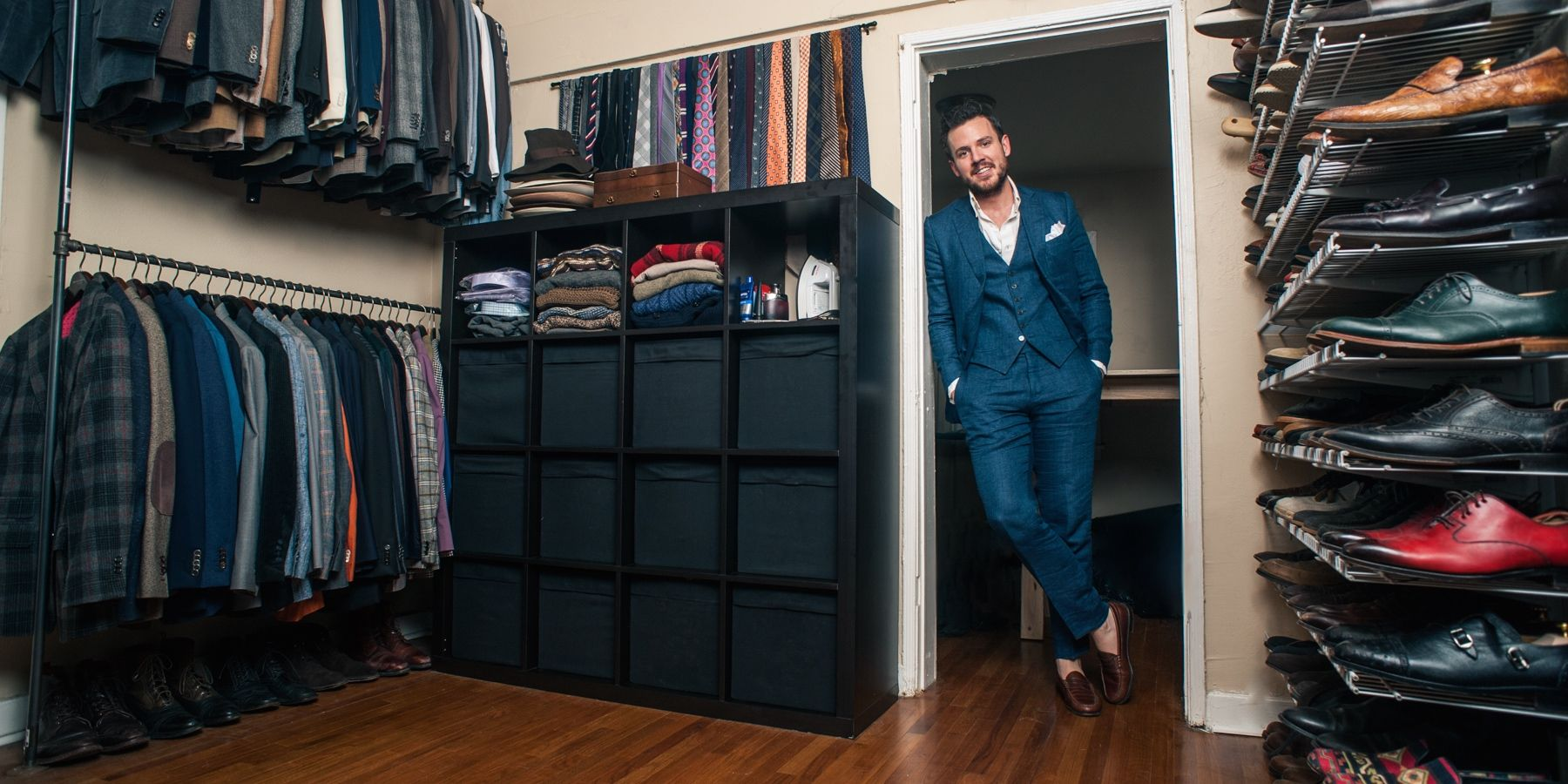 Closet Solutions: A Guide To Storing Menswear