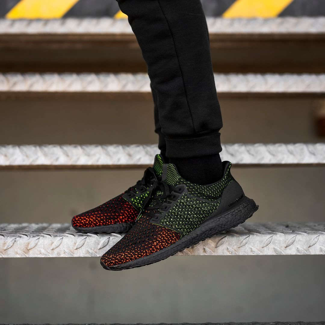 Adidas UltraBOOST Clima Core Black Solar Red | Latest