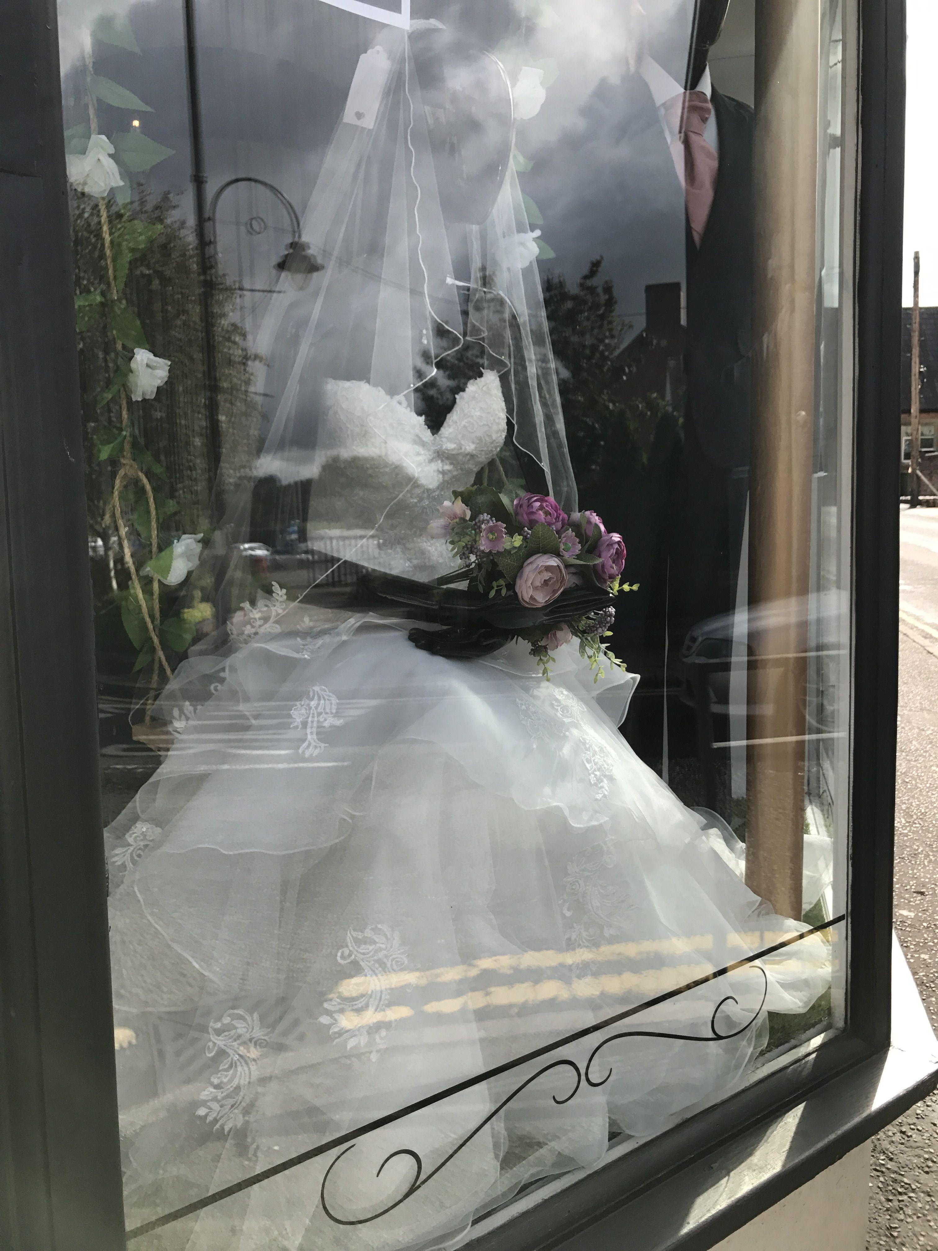 Pin by wedding belles stone on window display pinterest window