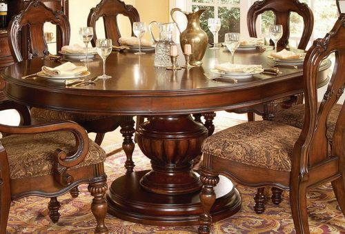 60 Inch Round Dining Table And Chairs in 2019 | Dining room ...