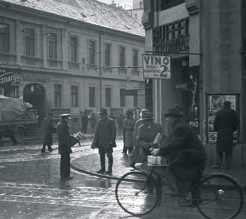 Ugao Ilice I Frankopanska Zagreb 1938 Zagreb Zagreb Croatia Photo