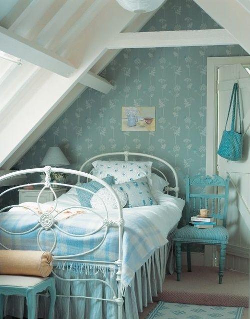 My nice blue room tumblr our house pinterest blue - Habitaciones vintage chic ...