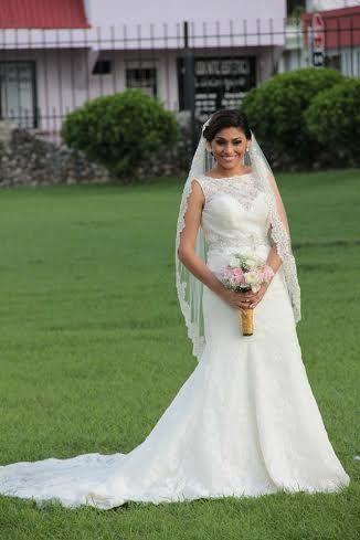ALLURE BRIDALS 9066 Talla 6 - De Novia a Novia
