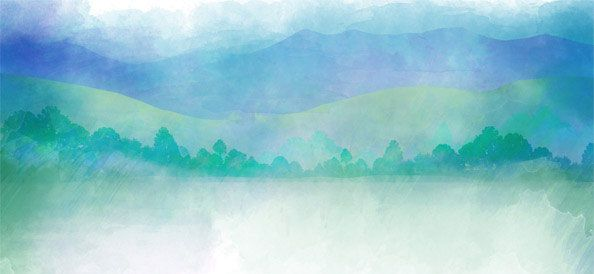 Watercolor Nature Background