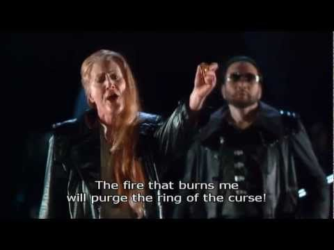 Anne Evans Brunnhilde's Immolation Scene (English Subtitles